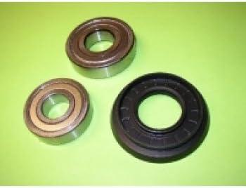 Carga de reparación de rodamientos de rodamientos para Siemens Bosch Lavadora compatible con almacenamiento Cruz 283725Alternativ