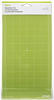 Cricut 2001972 Standard Grip Adhesive Cutting Mat, Green, 6 x 12 Inch, 2 Count (Pack of 1) - Design May Vary