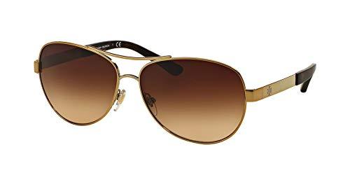 Tory Burch Women's 0TY6047 Gold/Brown Gradient (Tory Burch Sun Glass Case)