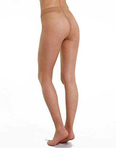 Charnos Women's 1 Pair 10 Denier Elegance Sheer Tights Extra Large Natural ()
