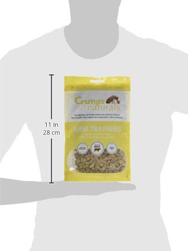 Crumps' Naturals Mt-Fd-105 Mini Trainers Freeze Dried Beef Liver (1 Pack), 105G/3.7 Oz