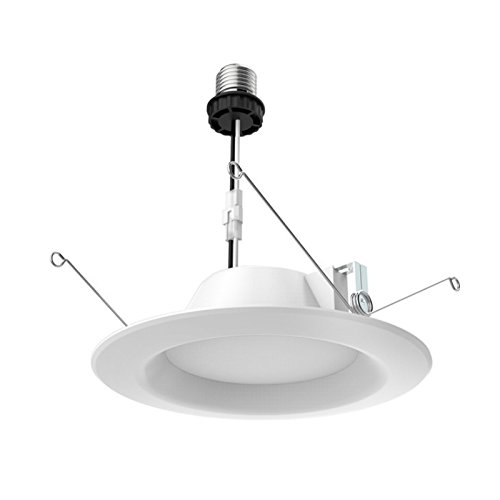 Satco S29312 Transitional LED Downlight in White Finish, 2.31 inches