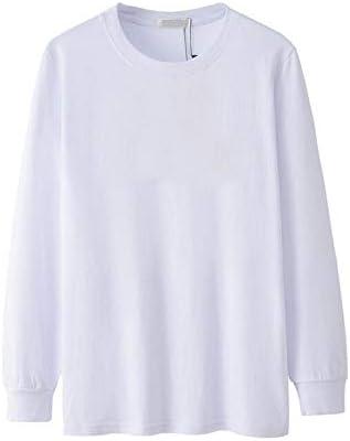 Camiseta de Hombre de Manga Larga otoño e Invierno de Gran tamaño Casual Camiseta de Color sólido Camiseta de algodón Extragrande para Hombre Camiseta Negra: Amazon.es: Bricolaje y herramientas