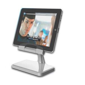 ipega desktop docking station charging stand for apple ipad ipad 2 silver. Black Bedroom Furniture Sets. Home Design Ideas
