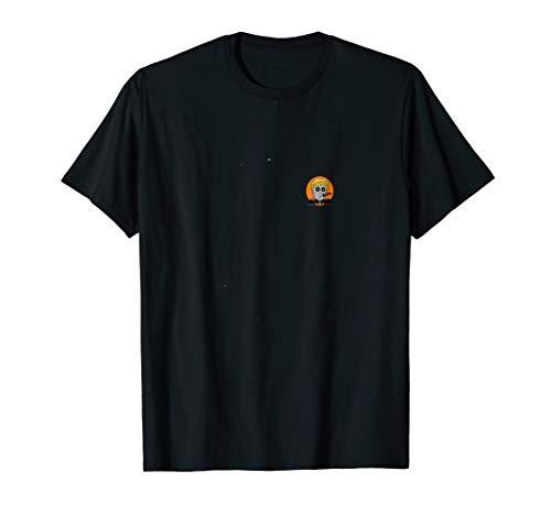 Booing Trump Halloween T-Shirt pocket image white or black ()