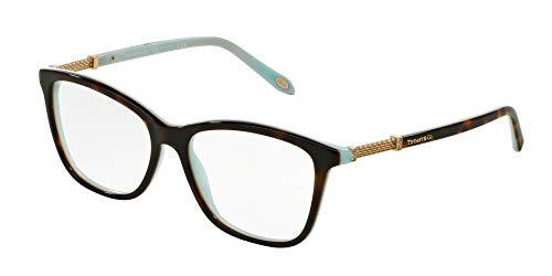 Tiffany & Co. TF2116B - 8134 Eyeglass Frame HAVANA/BLUE w/ Clear Demo ()