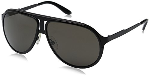 Carrera Ca100s Aviator, Black Ruthenium & Brown Gray, 59 mm