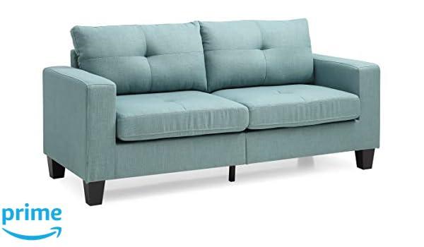 Amazon.com: Glory Furniture Newbury G500A-S Sofa, Teal ...
