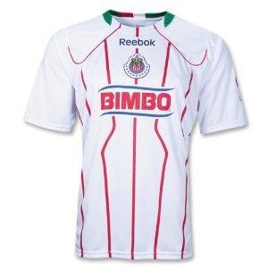hot sale online 01ddc 6f5ba Reebok Chivas Away Jersey 10/11
