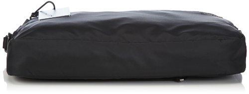 cm 42x31x6 talla NERO Mandarina hombre Schwarz Negro Black STUDIO CARTELLA ELC11 Duck azul hombro Bolsa color para al 7Ox6U