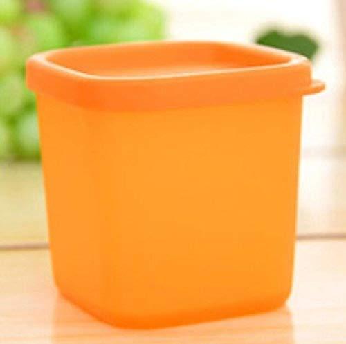 KeavyLee Nevera para microondas de cocina, color naranja ...
