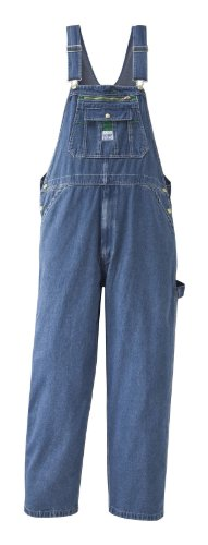 Key Overall Bib - Liberty Men's Stonewashed Denim Bib Overall, Stone Washed, 44/30