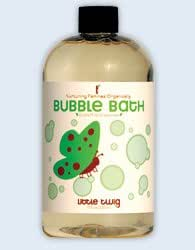 Little Twig Organic Bubble Bath- Extra Mild Unscented, 8.5 Fl. Oz. - Made in USA