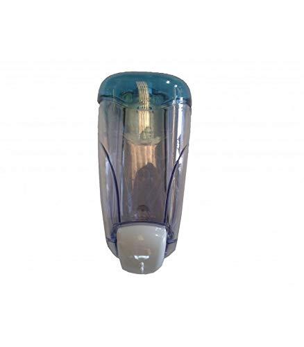 Dispensador de jabón en gel de tapa ABS Azul Transparente. Capacidad 0,8 Lt: Amazon.es: Hogar