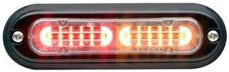 Red//Amber Whelen TLIK Ion T-Series Linear Split Super LED