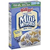 Kellogg's Frosted Mini Wheats Blueberry Muffin, 15.5 oz