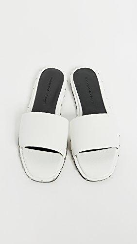 Slides White Rebecca Women's Minkoff Optic Saville nUOxYqCt8Y