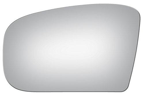Benz Cl65 Amg Mercedes (Burco 4004 Flat Driver Side Power Replacement Mirror Glass for Mercedes-Benz CL500, CL55 AMG, CL600, CL65 AMG, S350, S430, S500, S55 AMG, S600, S65 AMG (2000, 2001, 2002, 2003, 2004, 2005, 2006))