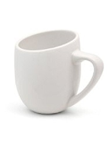Offero 3 Ounce Espresso Cups, Set of 4 (White Gloss)