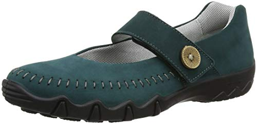 Hotter Teal Women's Janes Spin 022 Deep Mary Green rYAr4TzU