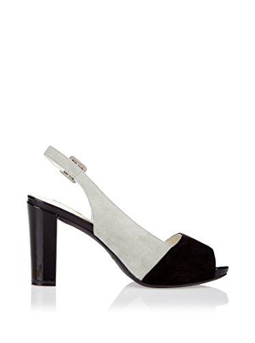 Geox Sandalo Con Tacco Nero EU 39.5