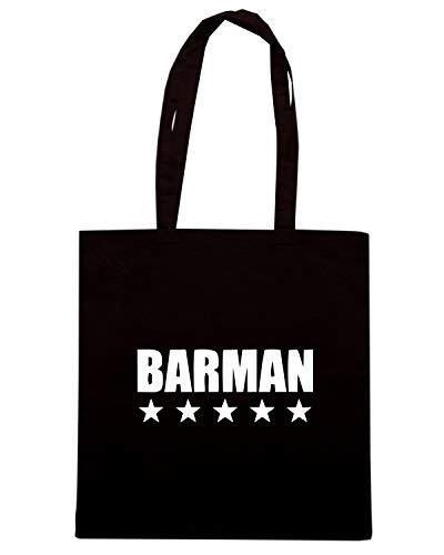 Speed Shirt Borsa Shopper Nera BEER0160 BARMAN STAR