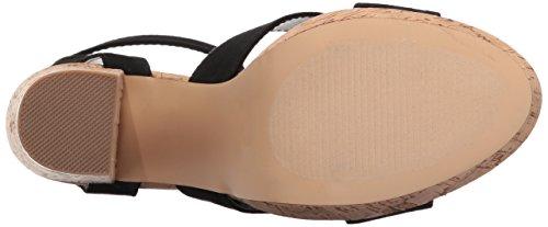 Suede Black Callisto Windye Heeled Women's Sandal 7q6SZ1