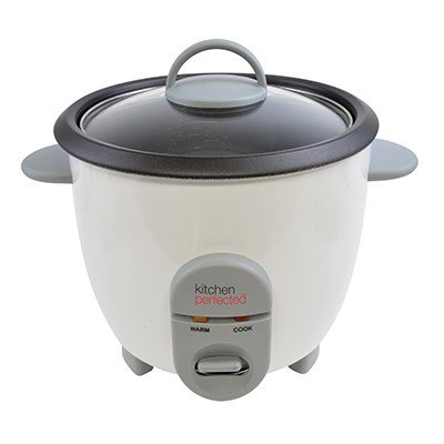 -[ Lloytron Kitchen Perfected Automatic Non Stick Rice Cooker, 350 W, 0.8 Litre  ]-
