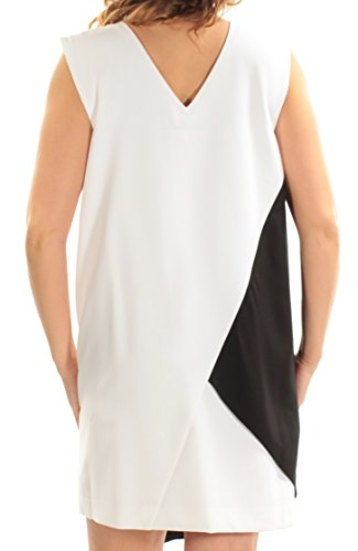Shift Catherine Malandrino Colorblocked Colorblocked Blackwhite Dress Catherine Shift Dress Malandrino aAF0qwF
