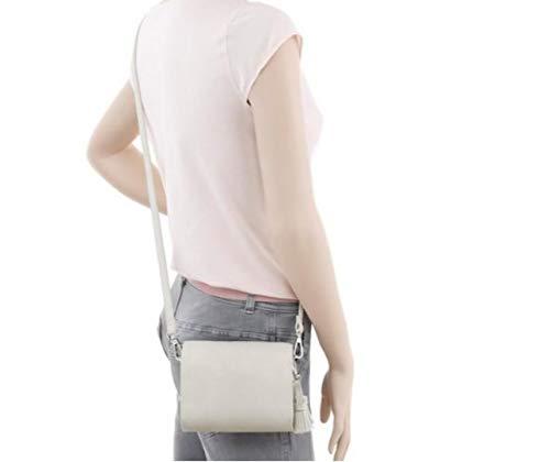 """Jette kl Damen Handtasche""""Shiny Frame"""" stone Minibag Schultertasche Umhängetasche"""