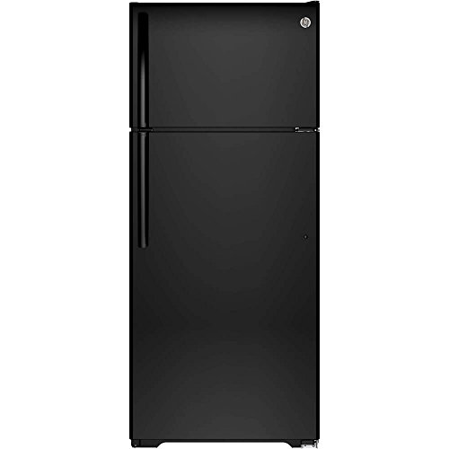 Ge Black Top Freezer Refrigerator - 5