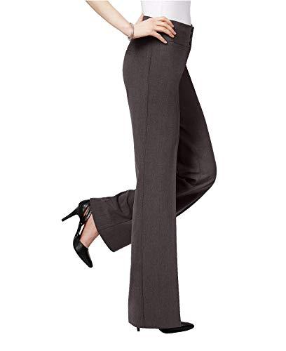 Style & Co. Women's Stretch Wide-Leg Pants (Grey, - Wide Co & Pant Style Leg Woman