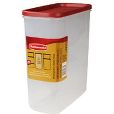 (Rubbermaid 21-Cup Dry Food Container, Value Pack Of 4 Containers)