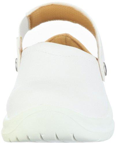 Sir Safety ESD Schuh Omega EN 61340-5-1 und EN ISO 20345 SBEA 26071401 - Zuecos de cuero unisex Blanco