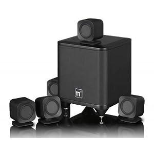 Mission M3 M-Cubed Home Theatre 5.1 Speakers (Black)
