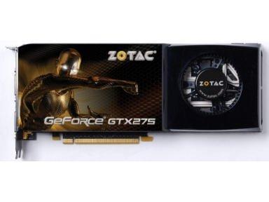 ZOTAC ZT 275E3KB FSP ZOTAC GeForce GTX 275 - 896MB GDDR3 ZT-275E3KB-FSP (PCIExp 896MB (Geforce 275)
