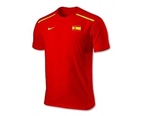 Nike - camiseta, roja, talla L, de Rafael Nadal del equipo ...
