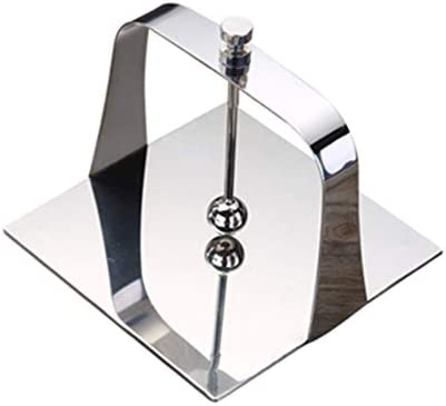 XYZZ Servilletero, Creativo Soporte de Papel de Mesa de Acero Inoxidable, Base de Terciopelo de Alto Grado, diseño Pulido Espejo, Tacto Liso de Gran Capacidad: Amazon.es: Hogar