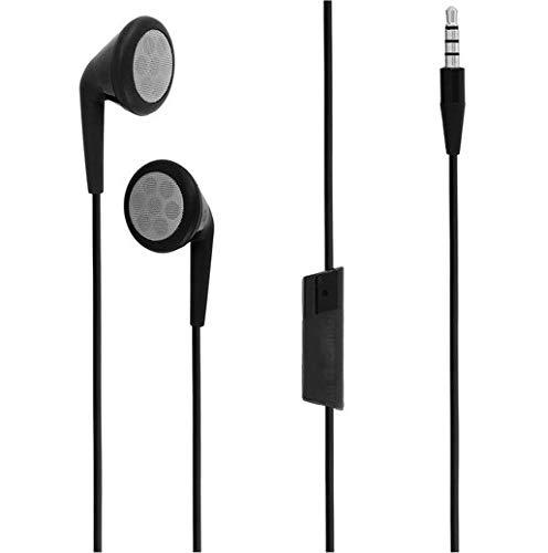 Blackberry HDW-24529-004 RIM Stereo Headset for BlackBerry 9780, 9810, 9930, 9350, 9370 - Retail Packaging - Black