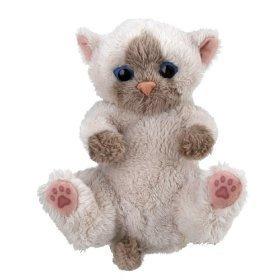 Fur Real Friends Snuggimals 2 - Gato de peluche, color castaño y marrón (Hasbro