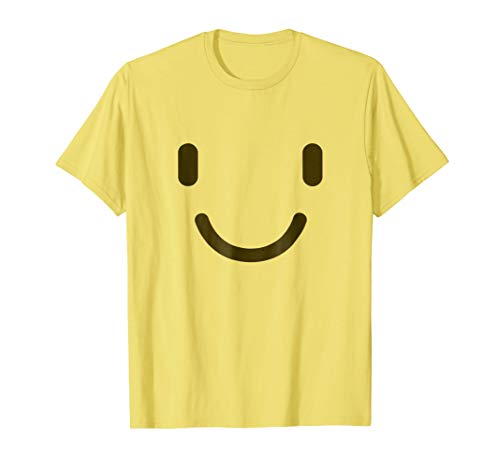 Slightly Smiling Face Shirt - Emoji Halloween -