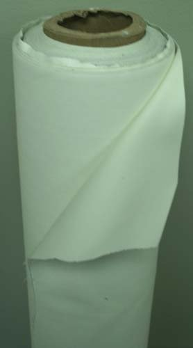 (Roc-lon® Double-Sided Blackout Drapery Lining Fabric by Yard Ivory/White(Ecru))