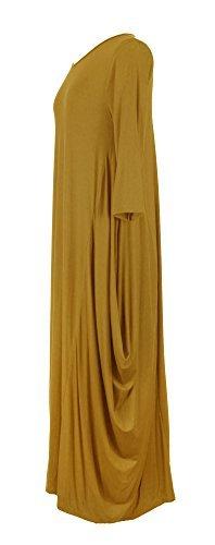 Viscose Jersey 3/4 Sleeve Dress - 6