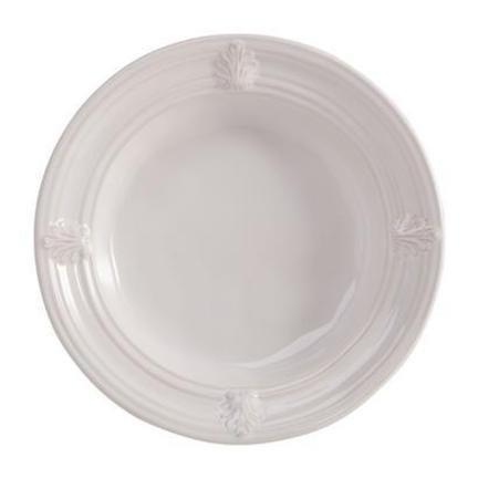 Juliska Acanthus Pasta/Soup Bowl Whitewash 10 in W