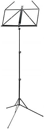 K/&M 100//5 Standard Notenständer Set Schwarz Notenpult Verstellbar Tasche Nylon