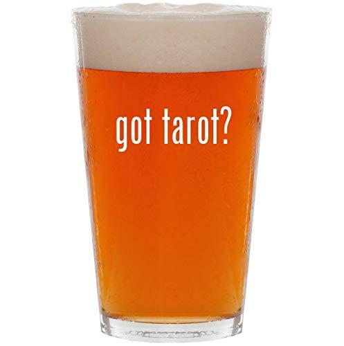 - got tarot? - 16oz All Purpose Pint Beer Glass