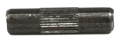 Recliner-Handles 6mm Metal Dowel Shelf Support Furniture Dowel with Textured Center for snug Grip