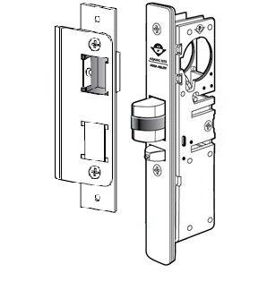 Adams Rite 4510-36-101-628 Mortise Lock, 8.875