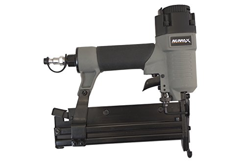 Pneumatic Staple Gun (NuMax S2-118G2 18-Gauge 2 In 1 Brad Nailer and Stapler)