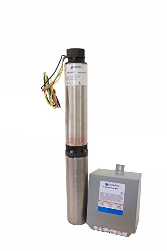 Goulds Pumps 10SB07412C Submersible Water Well Pump, Moto...